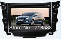 Car DVD Player For Hyundai I30 GPS Navigation System. with Bluetooth,USB,IPOD,FM,TV.Free shipping