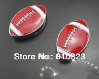 Wholesale New 100pcs 8mm Rugby slide charm DIY accessories Jewelry Findings