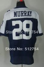 Dallas # 29 DeMarco Murray Jersey, balompié de la élite Jersey , la mejor calidad , Jersey auténtica, tamaño ML XL XXL XXXL , aceptan orden de la mezcla(China (Mainland))