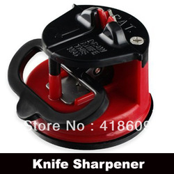 3 x NEW Brand Kitchen safety knife sharpener with secure suction pad(China (Mainland))