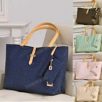 Vintage Casual Fashion Leather Women's Handbag Shoulder Bag 5 Colors free shipping 10289