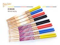 1 pair Free shipping hot sale Top quality colourful anti-skidding Maple profession practice 5A drum sticks, drum parts