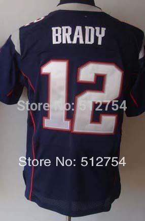#12 Tom Brady Jersey,Elite Football Jersey,Best quality,Authentic Jersey,Size M L XL XXL XXXL,Accept Mix Order(China (Mainland))