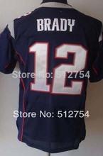 # 12 Tom Brady Jersey, balompié de la élite Jersey , la mejor calidad , Jersey auténtica, tamaño ML XL XXL XXXL , acepta orden de la mezcla(China (Mainland))