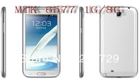 Newest GT- N7100 N7102 Galaxy NoteII  5.5 inch Mtk6577 1G Ram IPS Screen Dual SIM 3G Android GPS smartphone