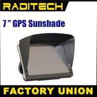 7 inch GPS universal sunshade sunshine shield navigator partner Sun shade / hood / sun hats