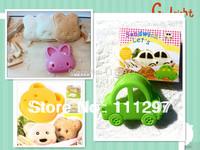 Wholesale 300pcs / lot plastic bear+rabbit +car  toast cutter sandwich cutter picnic lunch mold  Free shipping