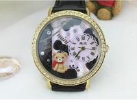 2013 MINI miniature Watch Handmade Polymer Clay Korea Design Japan Mov'T
