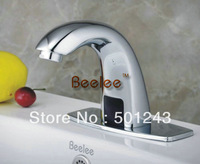 Free Shipping+Single Cold Infrared Sensor Electronic Basin Sensor Faucet Tap QH0101