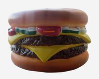 Big hamburger money saving box , piggy bank for saving coines Kids gift toy