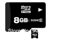DHL Free shipping good quality  real capacity 8GB 50pcs/lot tf card Memory Card