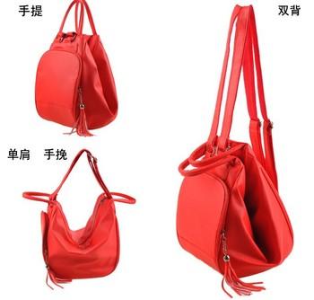 New arrive fashion woman bag Women's handbag work bag handbag messenger bag 3 kind usage casual bag shoulder bag