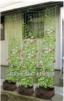 Free shpping! 5pcs 1.8*1.8m Green Garden Nylon Net, for Climbling Plants/Liana/Rambler/Melon and Fruit