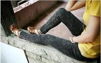 Promotion fashion thin candy color elastic sateen pregnant/maternity women capris/leggings/pencil pants/jeans/trousersYC-003