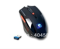 Mamba wireless gaming mouse 6 Buttons 600-2400DPI game mouse cf cs free shipping