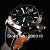 Sale promotion Military leather quartz watch men fashion wristwatch 93H3Y