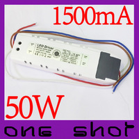 [10pcs] 1500mA PF>0.95 50W LED Driver Lighting Transformers for Indoor Floodlight  Lamp
