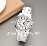 Drop Shipping 2014 New Rhinestone Decoration Watch Women Dress Watches Ladies Watch Fashion Watch