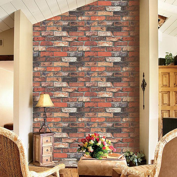 living room brick wallpaper - photo #40