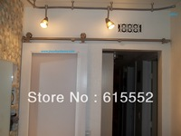 Industrial Modern Stainless Sliding Barn Door Hardware for Wood Door