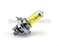 New free shipping H4 12V 130W Halogen bulb 2 Pcs YELLOW   tube ;amp bulbs