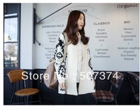 Knitting wholesale Large size Women Geometric Pattern Front Loose Sweater