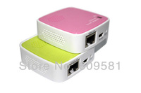 Wifi router New Portable Mini 35 M Wireless Router Ethernet to WIFI mini Adapter Free shipping