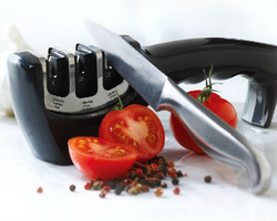 Free shipping 2013 new Knife sharpener ,ceramic knife sharpener, kitchen knife sharpener new design(China (Mainland))