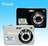 12 Mega pixels digital camera with 2.4 inch LCD 12MP 4x Digital Zoom With  Russian language,free shipping DC-530
