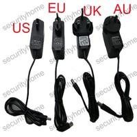 12V 1A/1000mA AC/DC Power Supply Adaptor US/EU/UK/AU Plug for CCTV Cameras