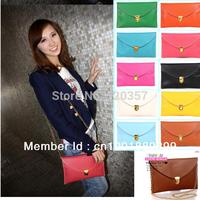 Free shipping! Hot sales Korea Style Women Envelope Clutch Chain Simple Women Shoulder Bag