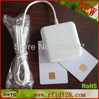 Free Shipping  Contact ACR38U_IPC Smart Card Reader &Writer with 2 PCS FM4442 Chip Cards+1 SDK Support  CAC & PIV Smart Cards