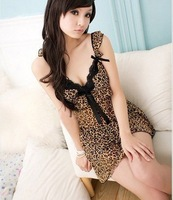 New hot/Sexy Lace leopard women/ ladies' Lingerie/ nightgown/ pajamas, Underwear, drop shipping