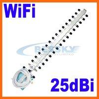 2.4GHz 25dbi WiFi Antenna For Wireless Router Outdoor Yagi Antenna  WIFI ANTENNA 2pcs