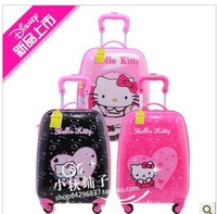 2013 Hot selling ,Hello Kitty Trolley Fashion Bag /Luggage Case/Traveling Bag /Wheeled Suitcase 22desigh High Strength Material