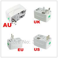 Brand New Surge Protector Universal International Travel Power Adapter Plug (US/UK/EU/AU AC Plug) 100% Guaranteed free shipping