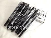 20 x Twin Tip Point Slim Quick Dry Permanent DVD CD Marker Pen Black Oil