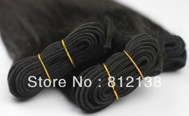 "Wholesale Body Wave,10pcs*8""-30"",free shipping, 100% virgin brazilian human hair extension ,remy hair, 1b(95-100g/pc)"