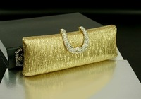 new arrival 5 colors clutch bags for women 2013 women evening bags leather handbag free shipping