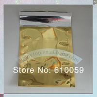 Free shipping Gold  aluminum foil bag C4 229x324mm