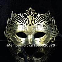 Wholesale - Venetian Mask Carnival Mask Vintage Roman Gladiator Mask Color Golden Silver