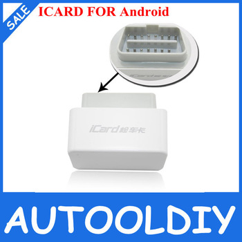 2014 Top-Rated Free Shipping Newest 100% Orginal LAUNCH iCARD Code Reader with OBDII/EOBD for Android Phone iCard for Android