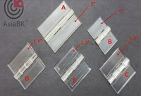"hings clear/Scrub(Paste-type/non-paste type) 1.5""/38mm*38mm acrylic hinges,plexiglass hinges Wholesale - Free shipping"