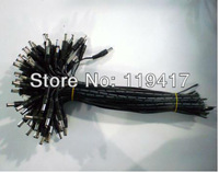 100Pcs/Lot,Hot sell,Wholesale Price,5.5*2.1MM 30CM DC Connector Power Cable For Adapter,CCTV Accessories