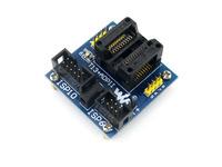 T13+ ADPII ATtiny13 ATtiny12 ATtiny15 ATtiny25 ATtiny45 SOIC8 (208 mil) AVR Programming Adapter Test Socket