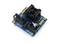 T13+ ADP # ATtiny13 ATtiny12 ATtiny15 ATtiny25 SOIC8 (150 mil) AVR Programming Adapter Test Socket