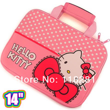 """New Arrival Casual fashion 14"""" Hello Kitty computer bag /14 inch Laptop Sleeve (KT 1622)(China (Mainland))"""