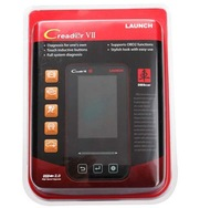 2013 new design 100% original launch code reader Creader VII full system free shipping to worldwide