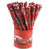 Cars cartoon pencil stationery Wooden pencil  72pcs / barrel  Wholesale free shipping