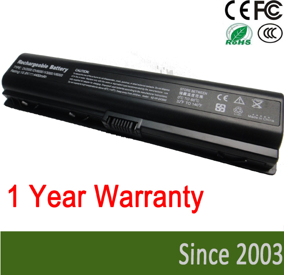 FOR OEM HP Laptop Battery for hp Pavilion dv2000 dv2100 dv6000 6500 dv2500 2600 2700 hstnn-lb31 ev088aa(China (Mainland))